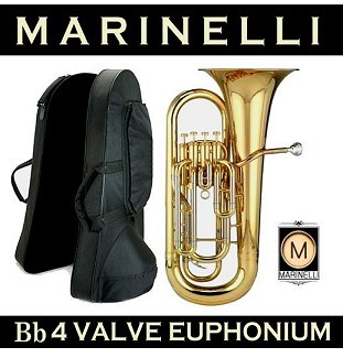Marinelli Bb 4 Valve Upright Euphonium Rental