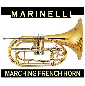 Marching French Horn