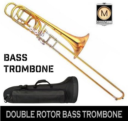Bass Trombone Rental Rental | Double Rotor | MusicRentalCentral