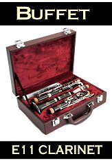 Buffet E11 Wood Clarinet