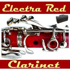 Red Bb Clarinet