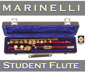 Red Gold Flute