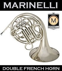 Nickel Silver French Horn