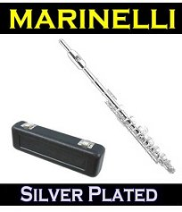 Silver Plated Piccolo