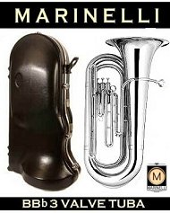 Nickel Plated Tuba