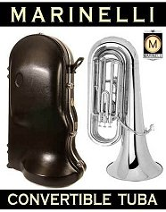Silver Plated Tuba